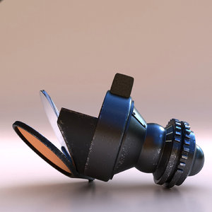 gun reflector sight 3D model