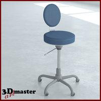 lab chair 3D model
