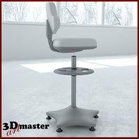 lab chair 2 3D