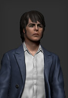 paul mccartney beatles 3D model