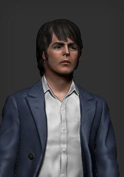 paul mccartney beatles 3D model