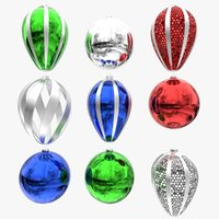 3D ornaments christmas ball model
