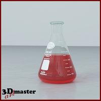 glass erlenmeyer flask 500 model
