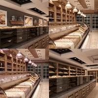 Store Interior Set 01