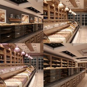 store set interior 3D model