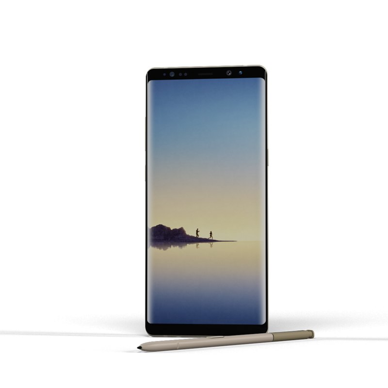 samsung galaxy note8 3D model