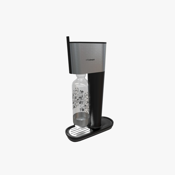 3D sparkling water maker