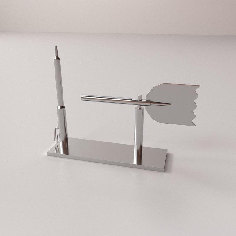 tube anemometer 3D