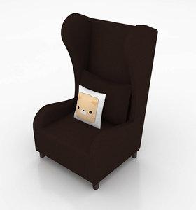 aldgate armchair 3D model