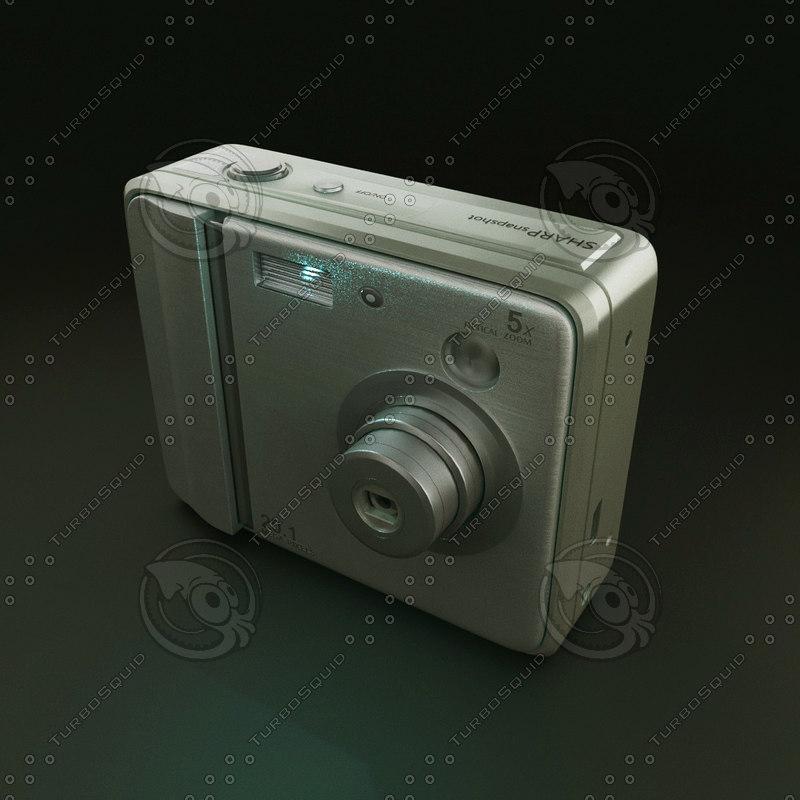 3D v-ray render camera