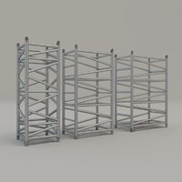 pieces super truss set 3D model