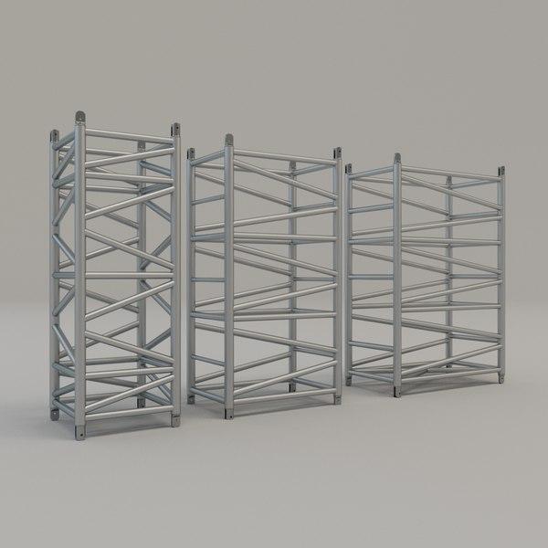 pieces super truss set 3D model