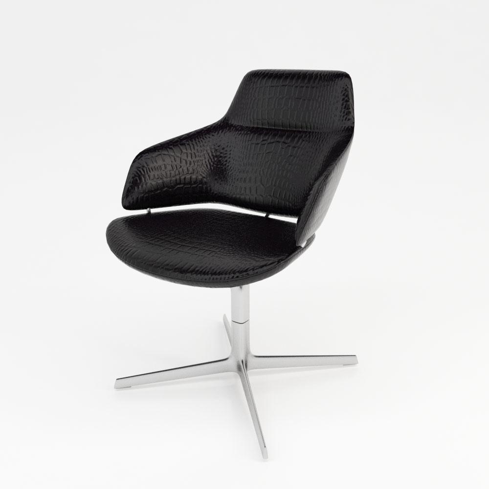 Superb Crocodile Leather Chair Ph Creativecarmelina Interior Chair Design Creativecarmelinacom