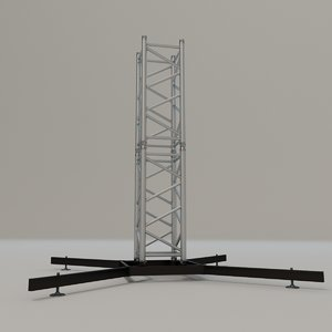 3D square stand