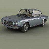 1970 lancia fulvia coupe 3D