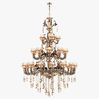 3D model chandelier md 89360-34 osgona