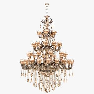 3D chandelier md 89360-53 osgona model