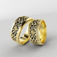 3D designed ring