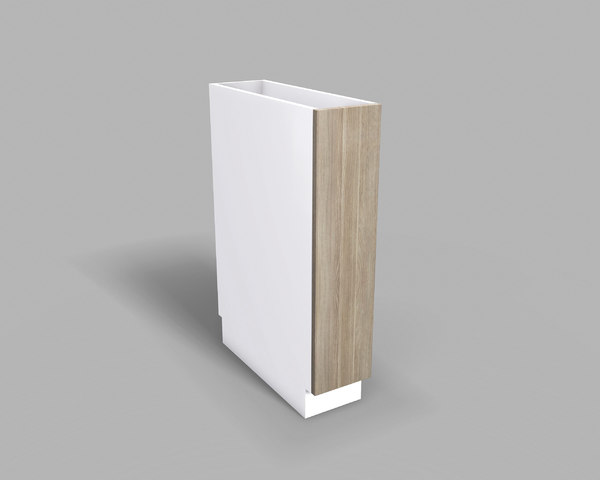 3D model kitchen base cabinet 20