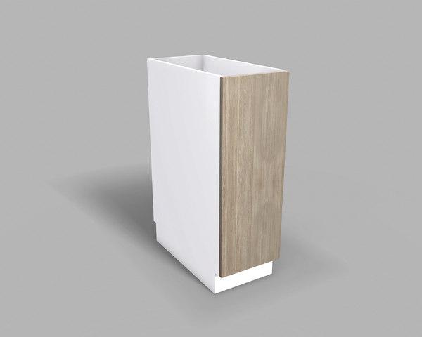 3D kitchen base cabinet 30