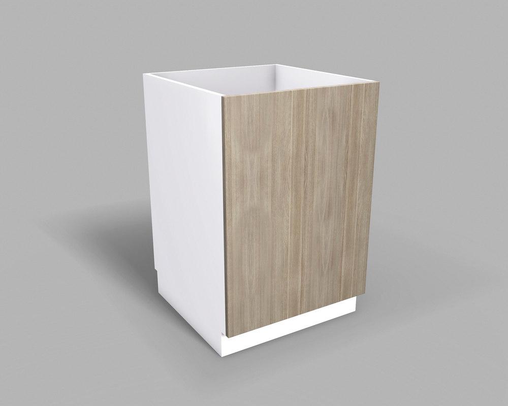 kitchen base cabinet 60 3D