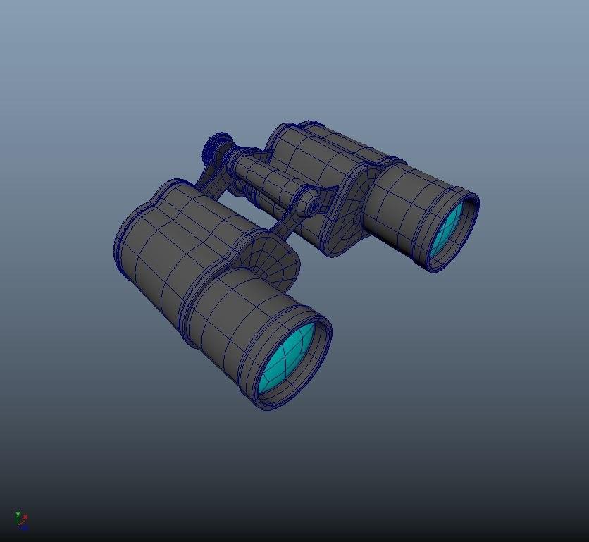 binoculars model