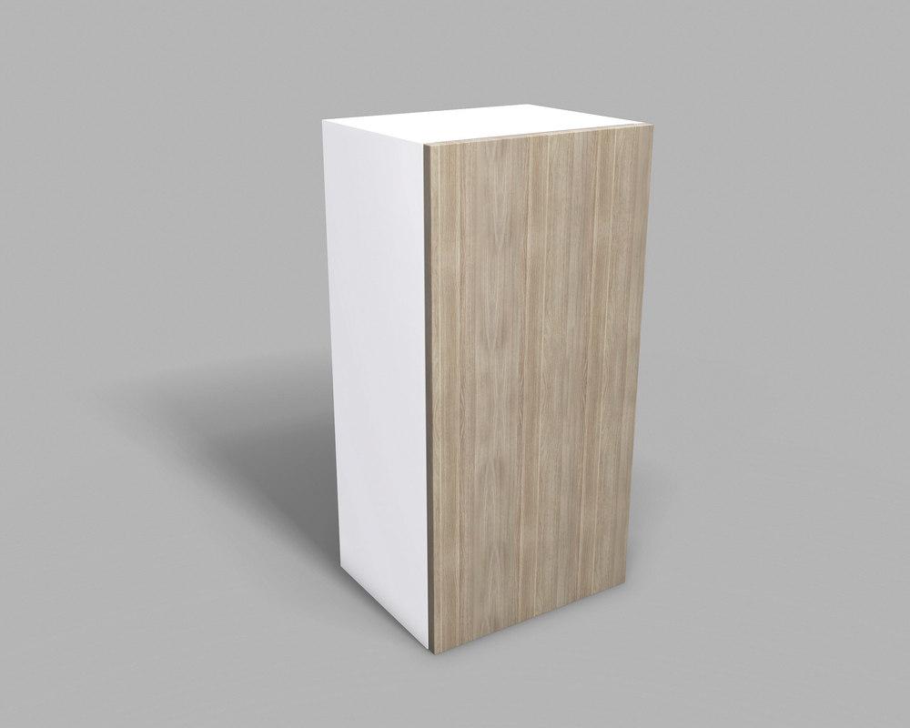 kitchen upper cabinet 40 3D model