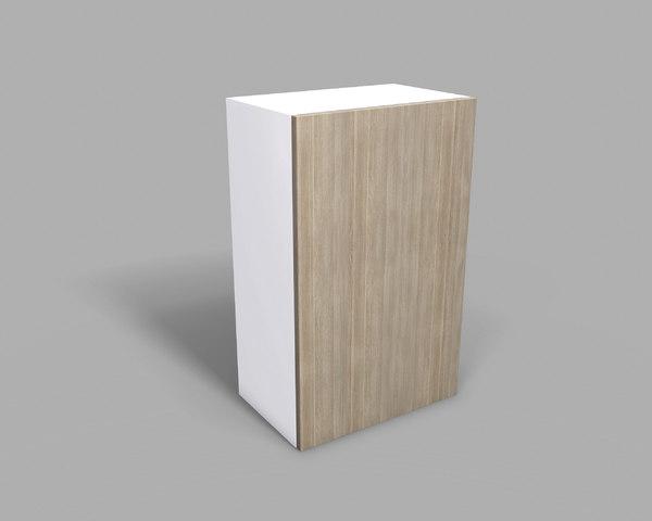 3D kitchen upper cabinet 50