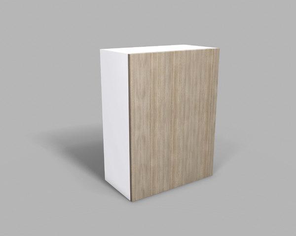 3D kitchen upper cabinet 60