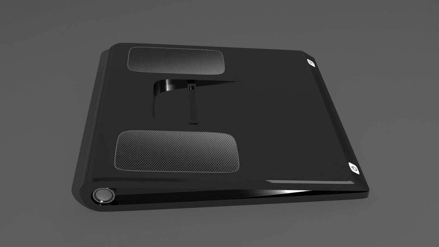 3D model classics speakers concept
