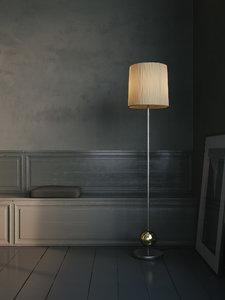 3D model lamp standard