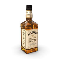 jack daniels honey 70cl 3D model