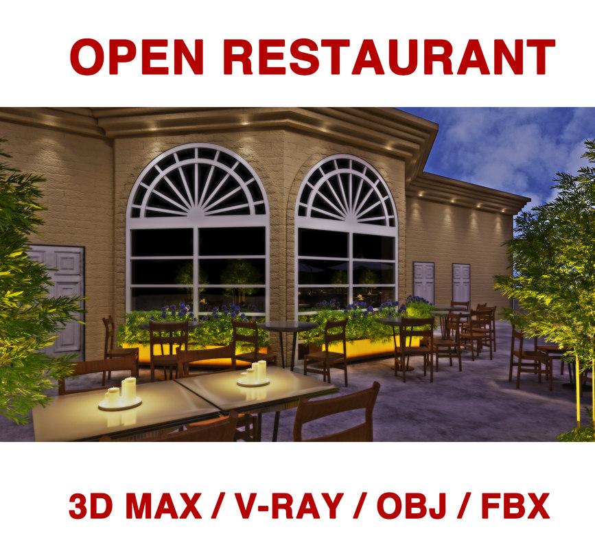 3D open lighting model