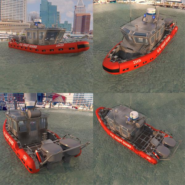 spc-le guard patrol boat water 3D