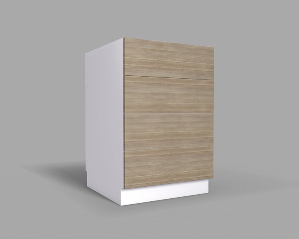 3D kitchen cabinet drawers 60