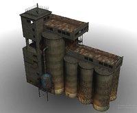 silos grain model