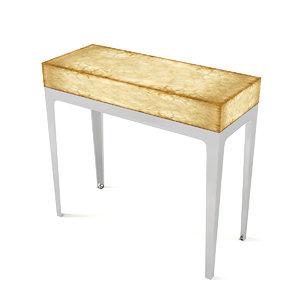 longhi console table 3D