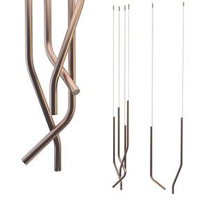 3D libra brass model