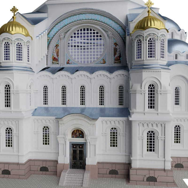 naval cathedral 3D model