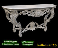 Vintage Gothic Marble Table