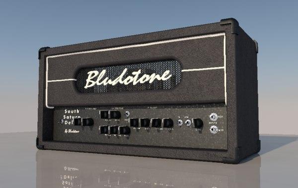 3D amplifier guitar amp