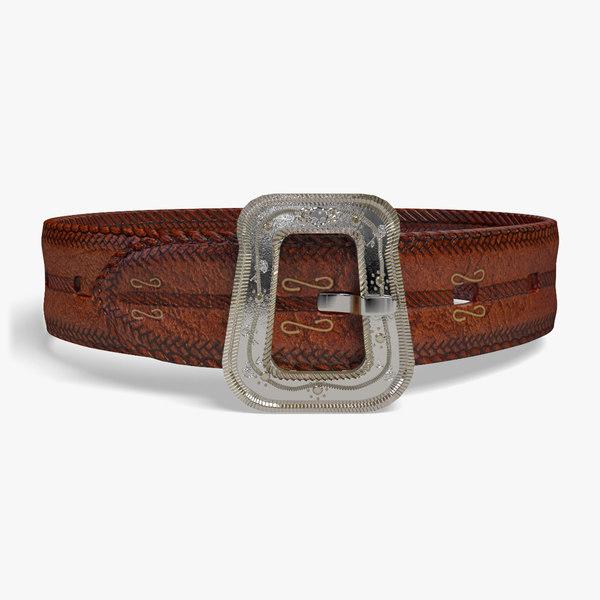 3D fantasy belt model