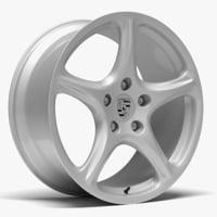 porsche carrera s wheel model