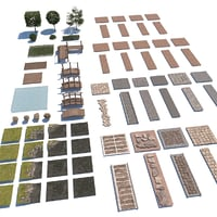 3D pack landscape garden design model