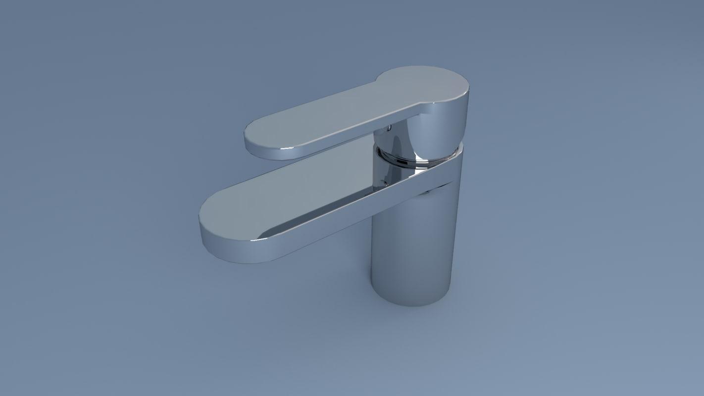 monobloc tap 3D model