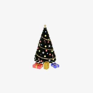 presentation christmas ball 3D model