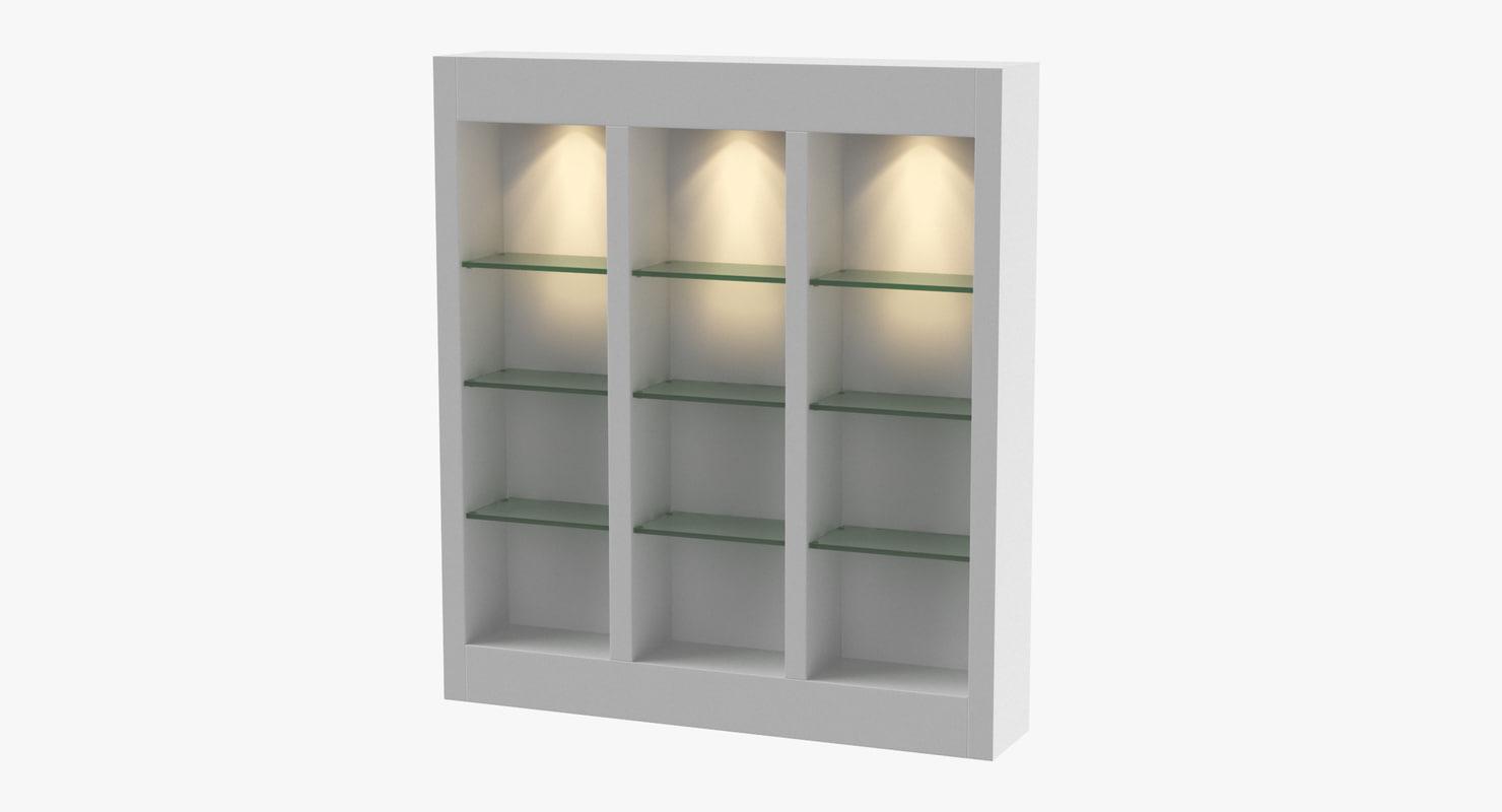 retail shelf 03 3D
