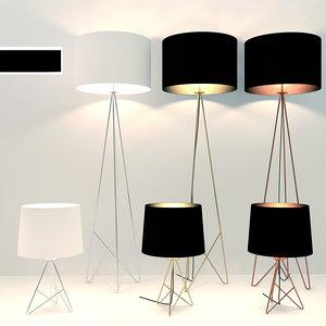 3D model lamp