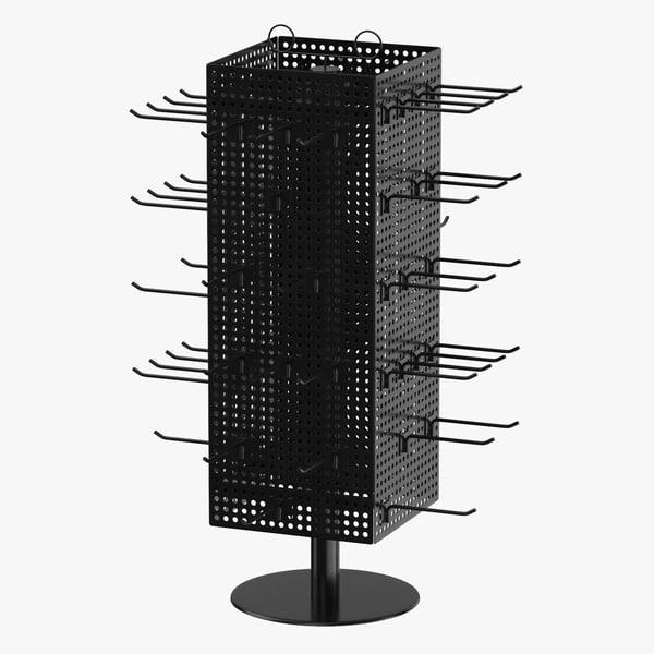 display rack 04 3D model