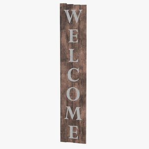 3D welcome sign 04